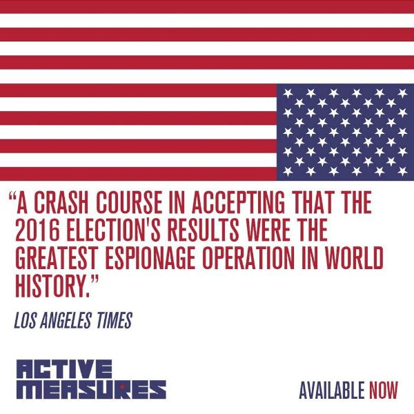 Active Measures…. Great video. Jack Bryan